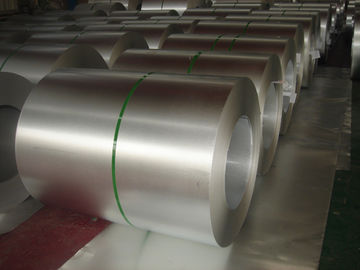 China Aluzinc Alloy Regular spangle Hot Dipped Galvalume Steel Coil / Sheet supplier